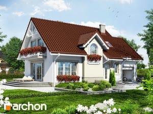 Projekt domu ARCHON+ Dom pri sladkom drievku 3