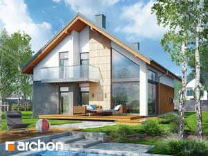 Projekt domu ARCHON+ Dom vo vlkovci