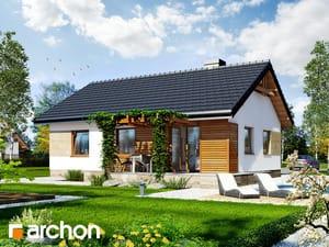 Projekt domu ARCHON+ Dom pod papájou 2