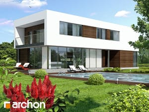 Projekt domu ARCHON+ Dom v karagáne