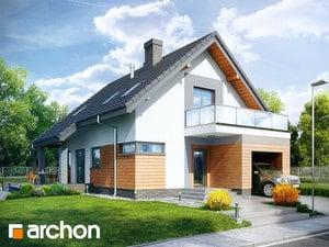 Projekt domu ARCHON+ Dom pod zvončekmi TERMO