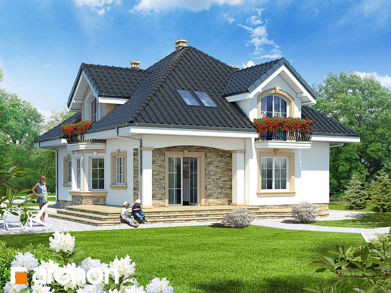 Dom Pri Kokosoch G Projekt Archon Pôdorysy