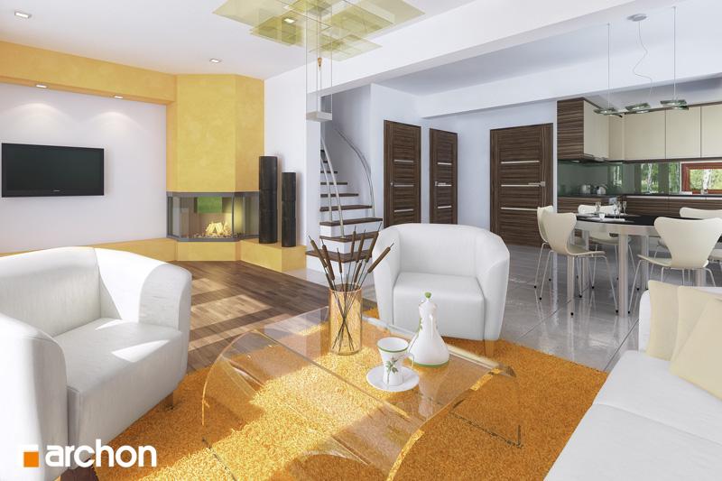 Dom v budlejách (B) - Interiér