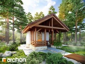 Projekt domu ARCHON+ Altán A3