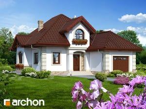 Projekt domu ARCHON+ Dom medzi vilcom