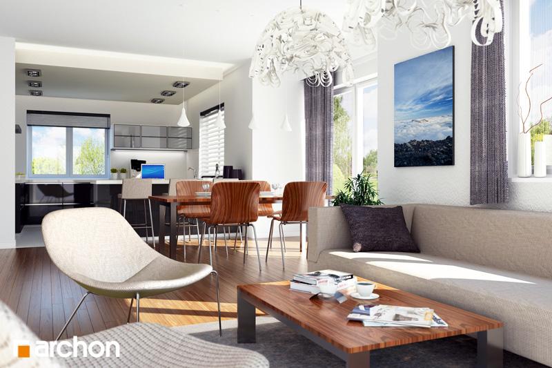 Dom v jonagoldách - Interiér
