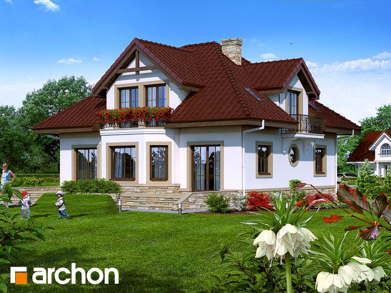 Dom v kr likoch projekt archon objedna for Case in legno dalla romania