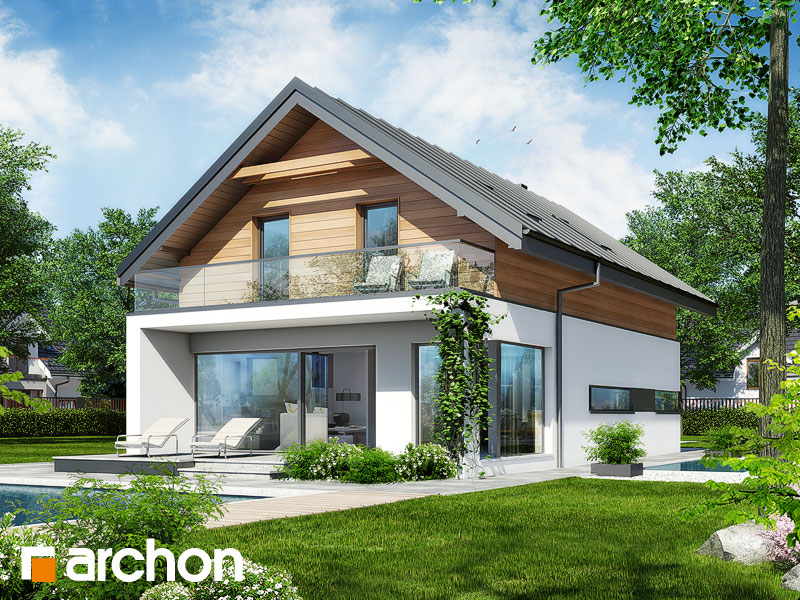 Dom V Tiarely Projekt Archon Pôdorysy
