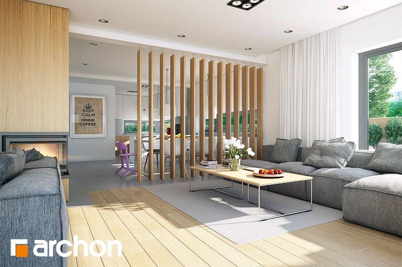 Dom v tiarely - Interiér