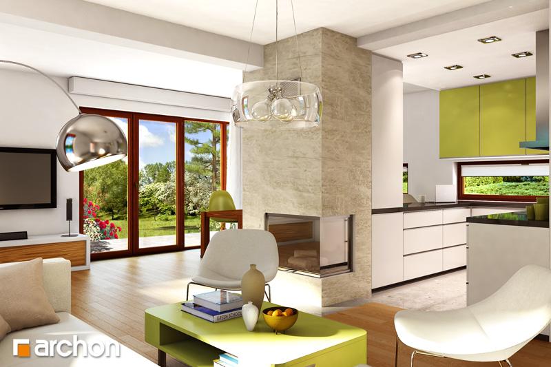 Dom v citrusoch - Interiér