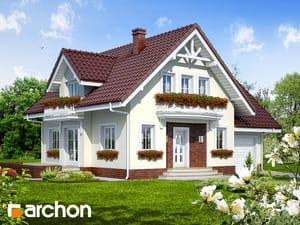 Projekt domu ARCHON+ Dom pod jabloňou antonovka 2 (G)