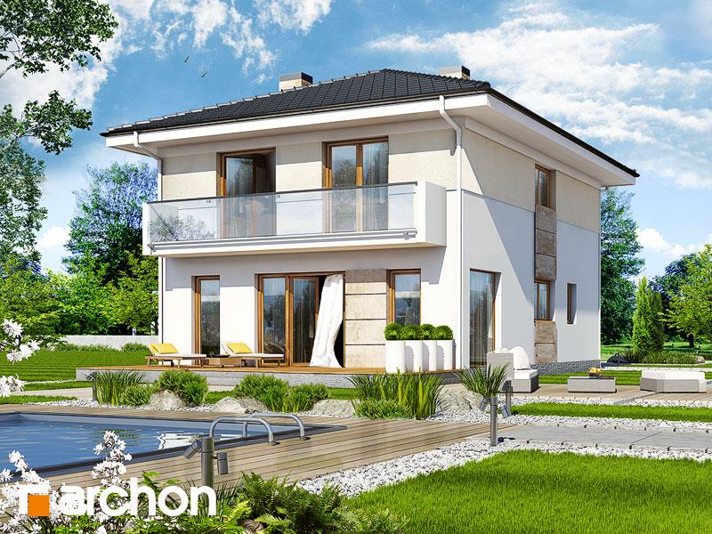 Vila Julia 2 Projekt Archon Pôdorysy