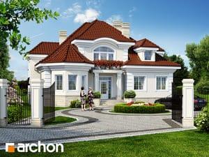 Projekt domu ARCHON+ Rezidencia v Myslenicach 2