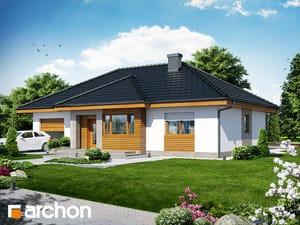 Projekt domu ARCHON+ Dom v akébii 3