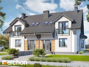Projekt domu ARCHON+ Dom medzi stračími 3 ver.2