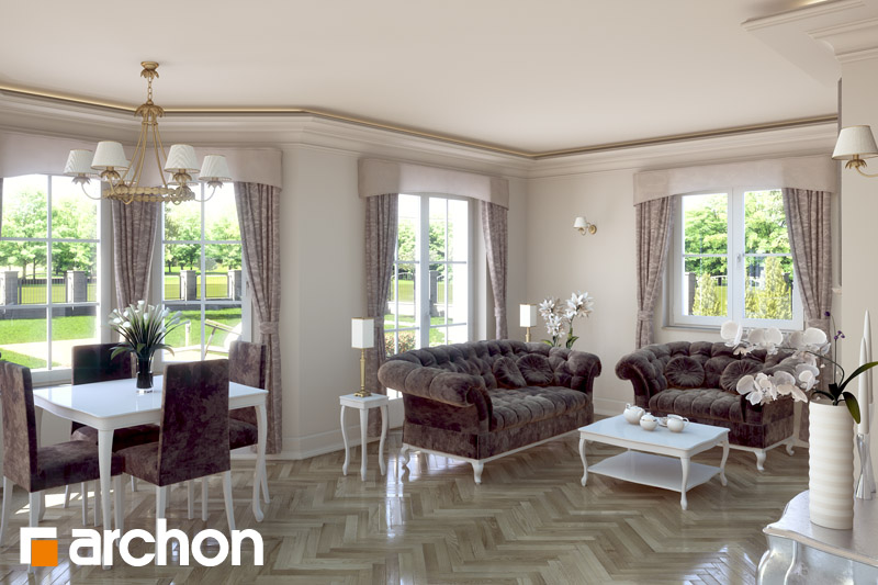 Dom v rukole (G2) - Interiér