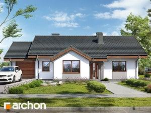 Projekt domu ARCHON+ Dom v letných jabloniach