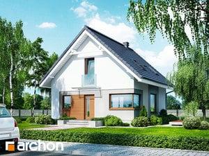 Projekt domu ARCHON+ Dom medzi rododendronmi 11 (N)