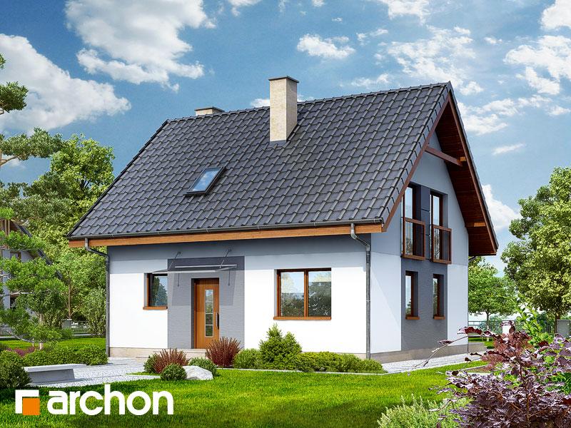 Dom v zelenci 2 - Vizualizácia 1
