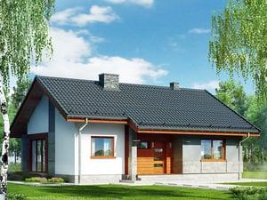 Projekt domu ARCHON+ Dom pod lipou