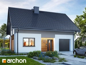Projekt domu ARCHON+ Dom v lucerne 10