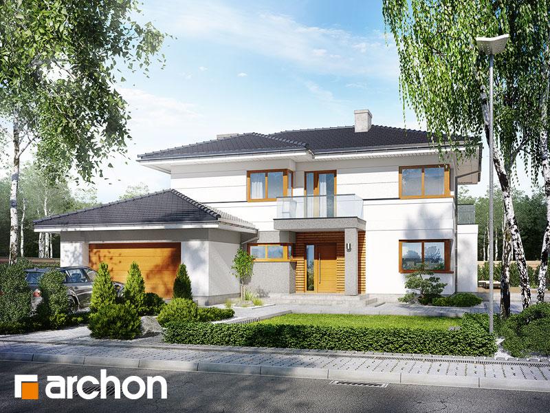 Vila Olivia Projekt Archon Pôdorysy