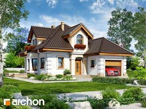 Projekt domu ARCHON+ Dom v rukole 4