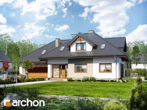 Projekt domu ARCHON+ Dom medzi kanami 2 (P)
