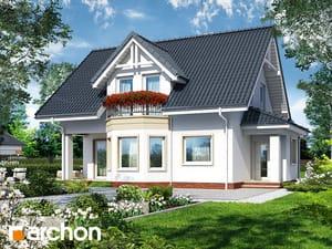 Projekt domu ARCHON+ Dom uprostred brusníc 3