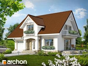 Projekt domu ARCHON+ Dom medzi špargľou ver.2