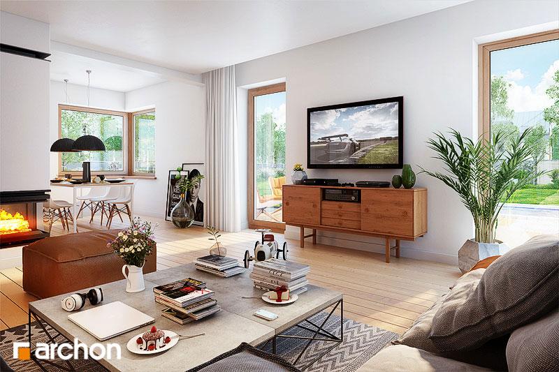 Dom v amarilkách 5 - Interiér