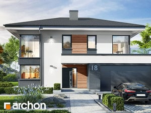 Projekt domu ARCHON+ Vila Miranda 2 (G2)