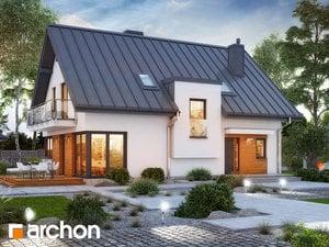 Projekt domu ARCHON+ Dom v amarilkách 8