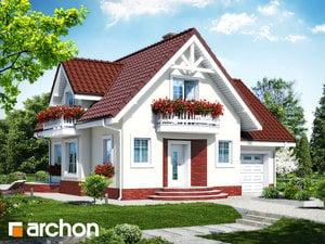 Projekt domu ARCHON+ Dom pod jabloňou antonovka (G) ver.2
