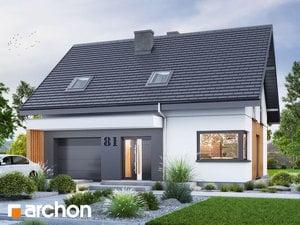 Projekt domu ARCHON+ Dom medzi čučoriedkami 5