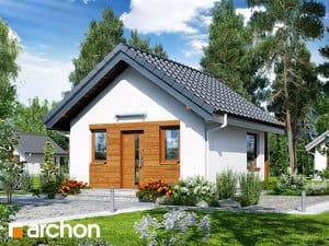 Projekt domu ARCHON+ Letný dom medzi šafranmi 2