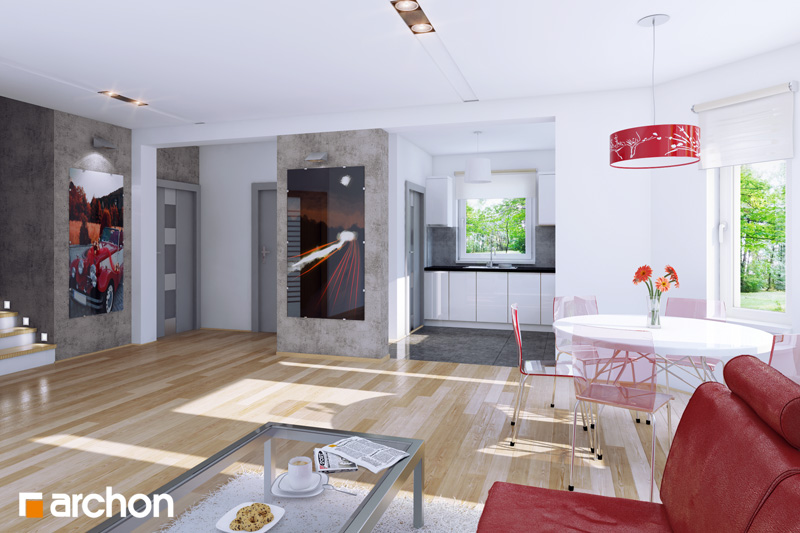 Dom medzi rododendronmi 2 ver.2 - Interiér