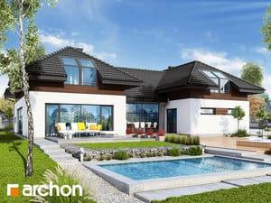 Projekt domu ARCHON+ Rezidencia v nerterách