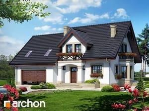Projekt domu ARCHON+ Dom medzi tamariškami 4 (G2) ver.2