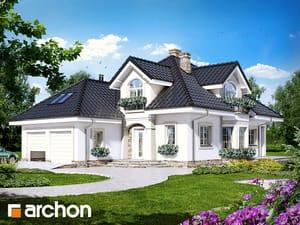 Projekt domu ARCHON+ Dom pri kokosoch ver.2
