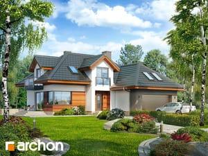 Projekt domu ARCHON+ Dom v kaméliách (G2N) ver.2