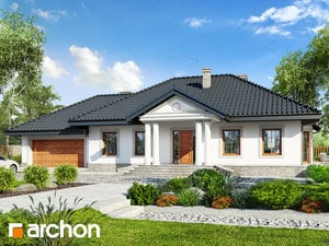 Projekt domu ARCHON+ Dom medzi gaurami 6 (G2)