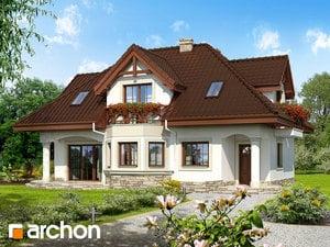 Projekt domu ARCHON+ Dom v majoráne (P) ver.2