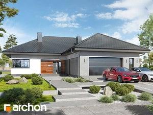 Projekt domu ARCHON+ Dom v snežienkach 3 (G2)