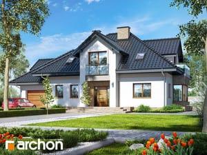 Projekt domu ARCHON+ Dom v kornútovkách 5 (N)