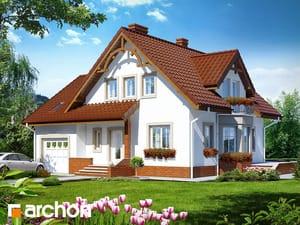 Projekt domu ARCHON+ Dom medzi tamariškami 2 ver.2