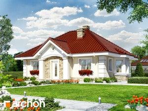 Projekt domu ARCHON+ Dom uprostred lotosu 2 ver.2