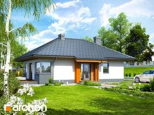 Projekt domu ARCHON+ Dom v tôňovkách TERMO