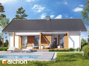 Projekt domu ARCHON+ Dom medzi brečtanom 3 (A)