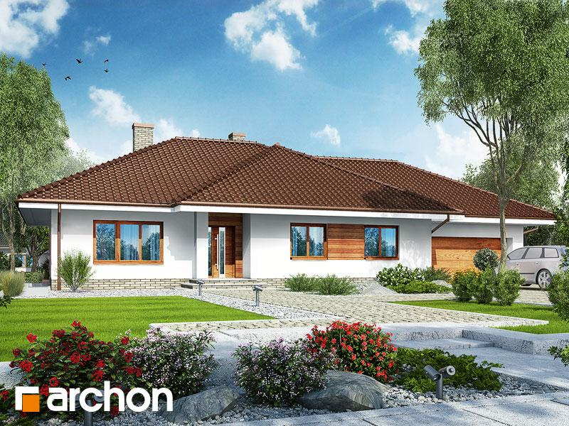 Dom pod rozkvitnutou jabloňou 2 (G2) - Vizualizácia 1
